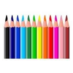 Inpakwerk kleurpotloden